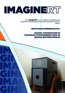 Ulotka ImagineRT - Usługi Badań Nieniszczących