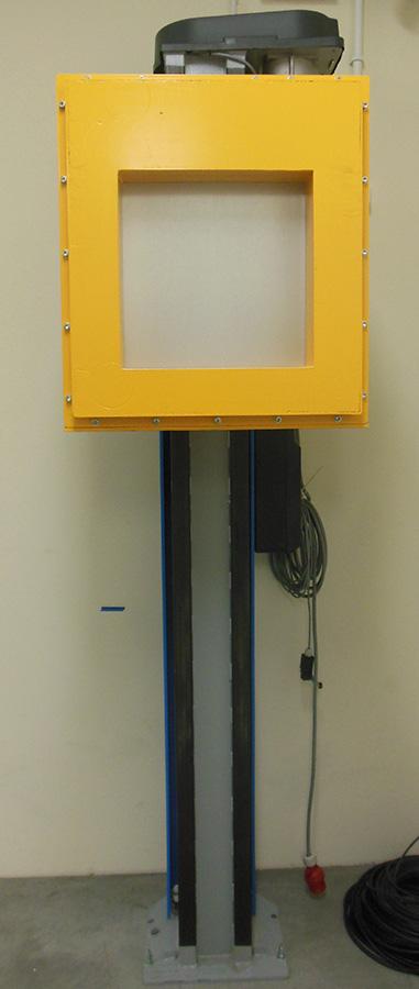 Detektor Perkin Elmer z dodanymi osłonami w naszym laboratorium